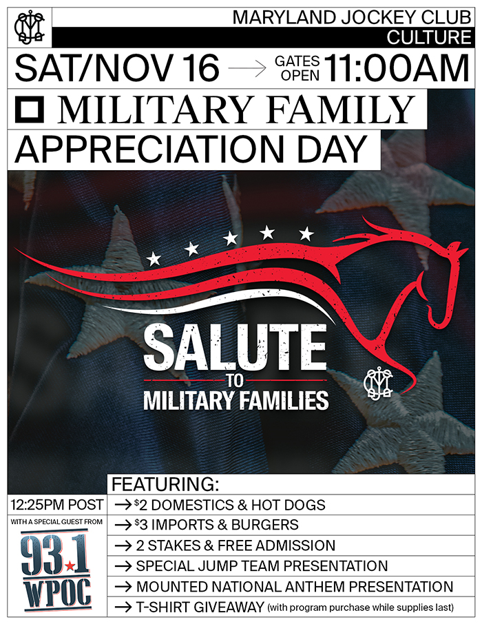 Military Family Appreciation Day flyer