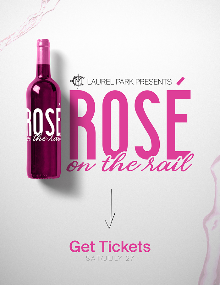 Rose on the Rail
