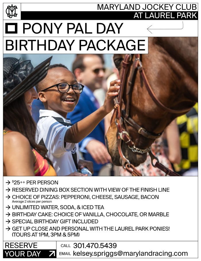 Pony Pal Birthday Package flyer