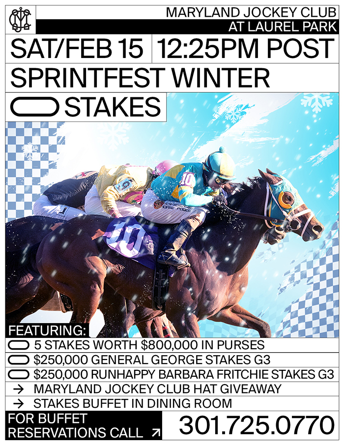 Sprintfest Winter Stakes - Feb. 15