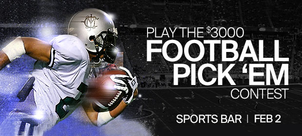 Football Pick 'Em Big Game Watch
