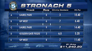 Stronach Pick 5 Laurel Park