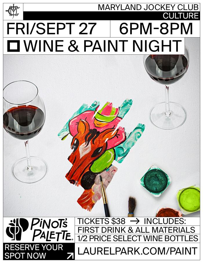Wine Paint Night Laurel Park