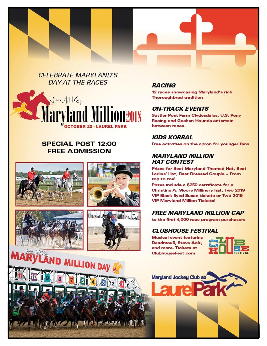 Maryland Million Day   Laurel Park