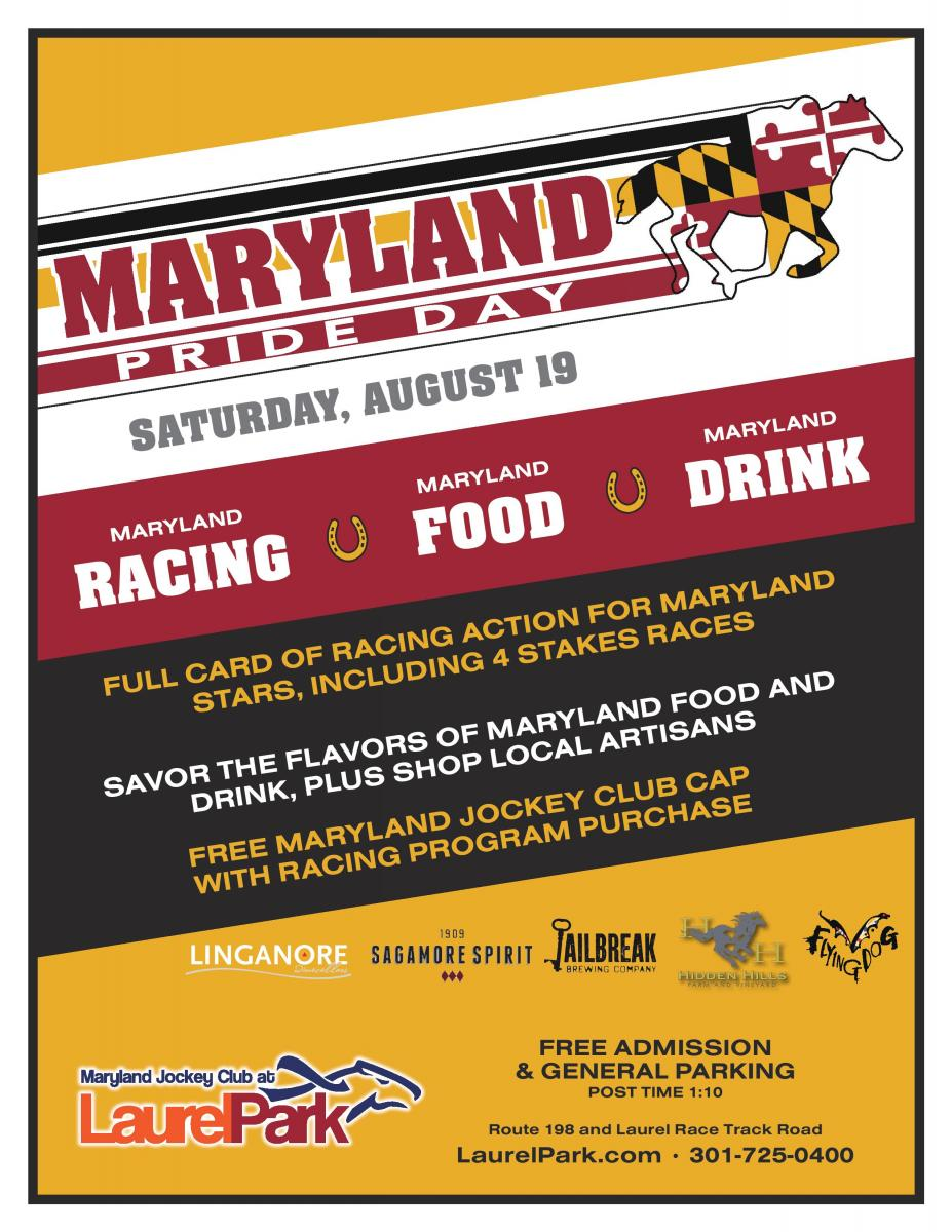 Maryland Pride Day Laurel Park