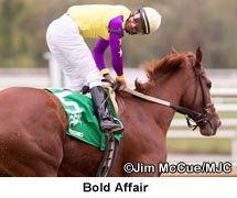 Bold Affair Dominates Maryland Million Distaff