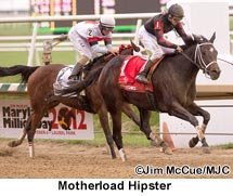 Motherload Hipster Captures Maryland Million Distaff Starter Handicap